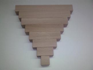 Bloc en bois 2 5 cm