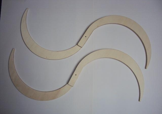 Buugeng en bois de bouleau