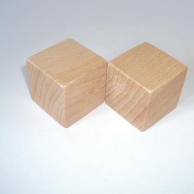 Cube en bois 3,5 cm
