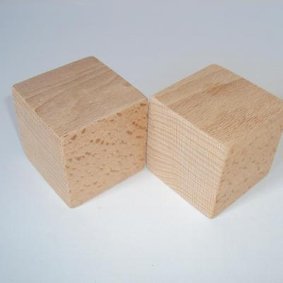 Cube en bois 5,5 cm
