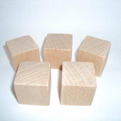 Cube en bois 3 cm