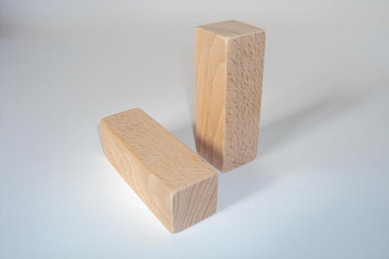 Cube en bois 90x30x30