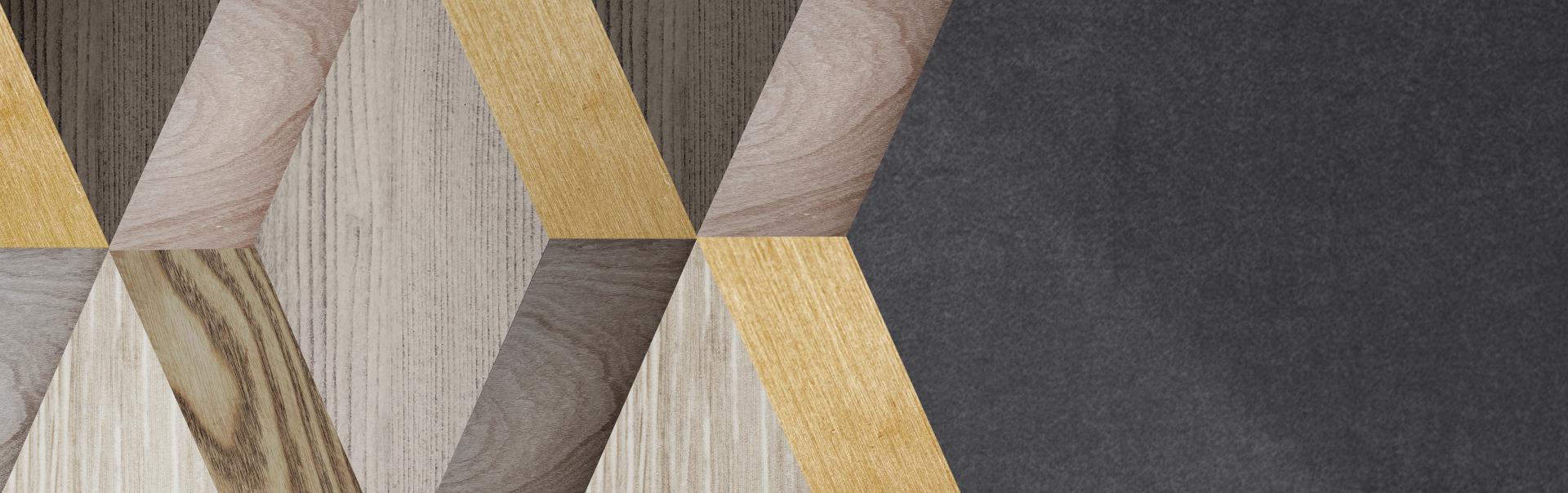 Création et fabrication d'objets et cubes en bois.