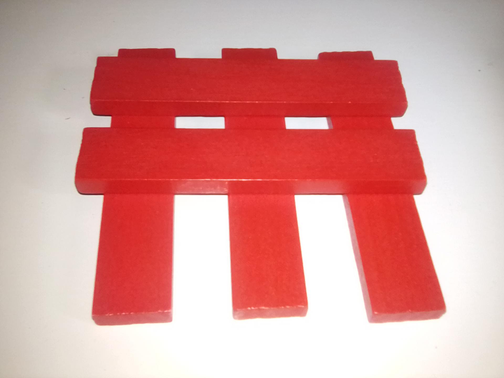 Planchettes rouge