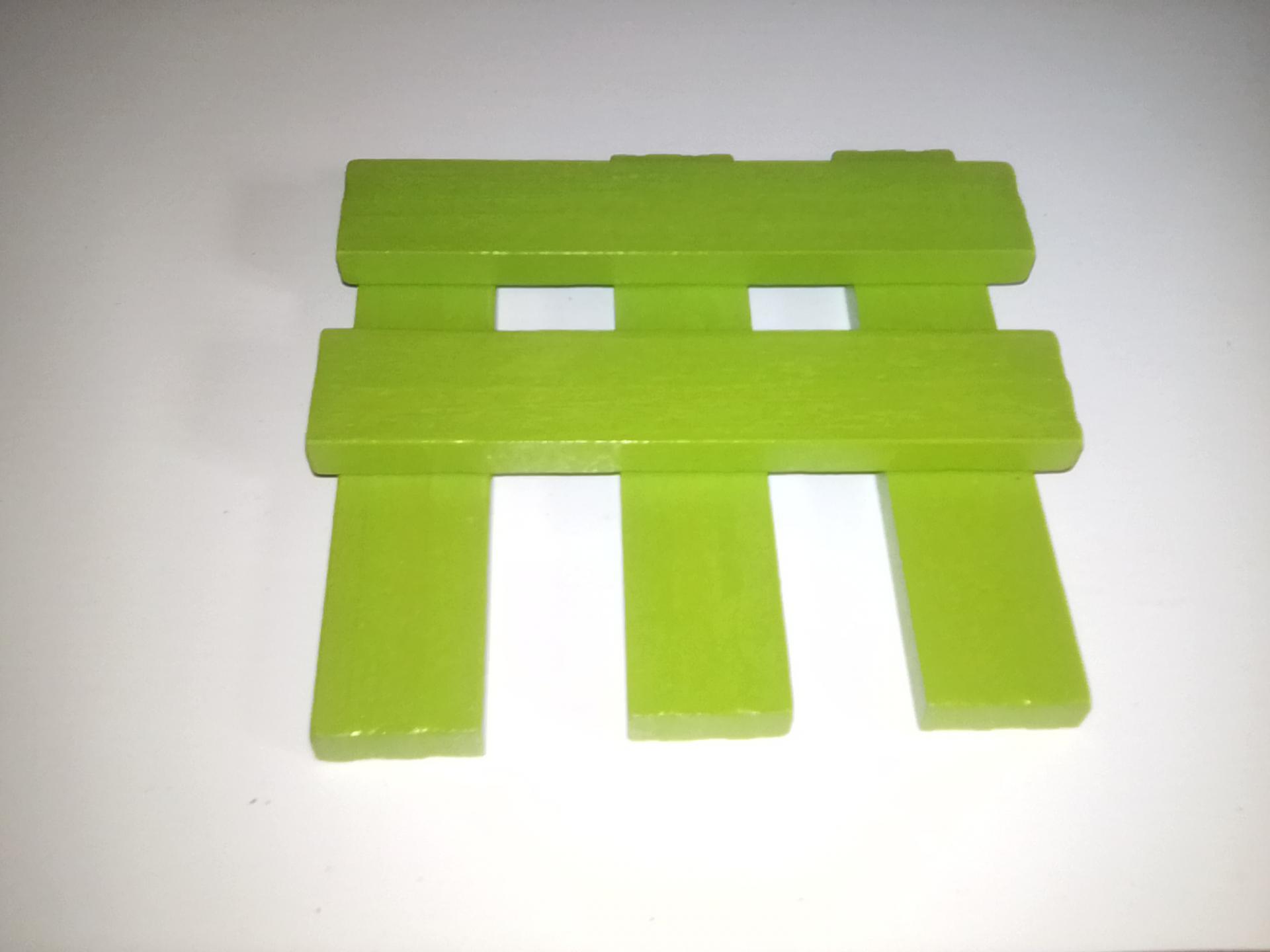 planchette vert