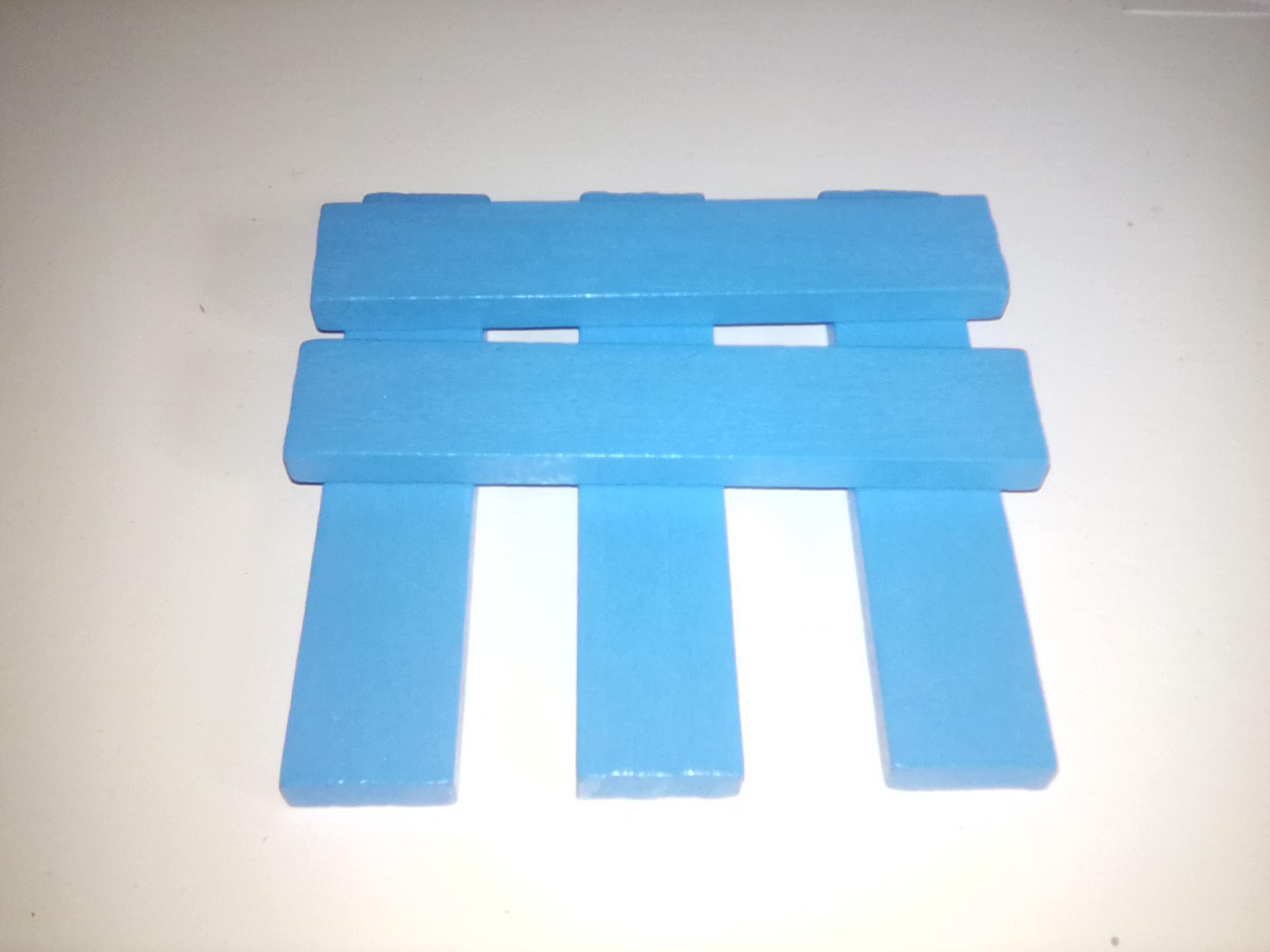 planchette bleu