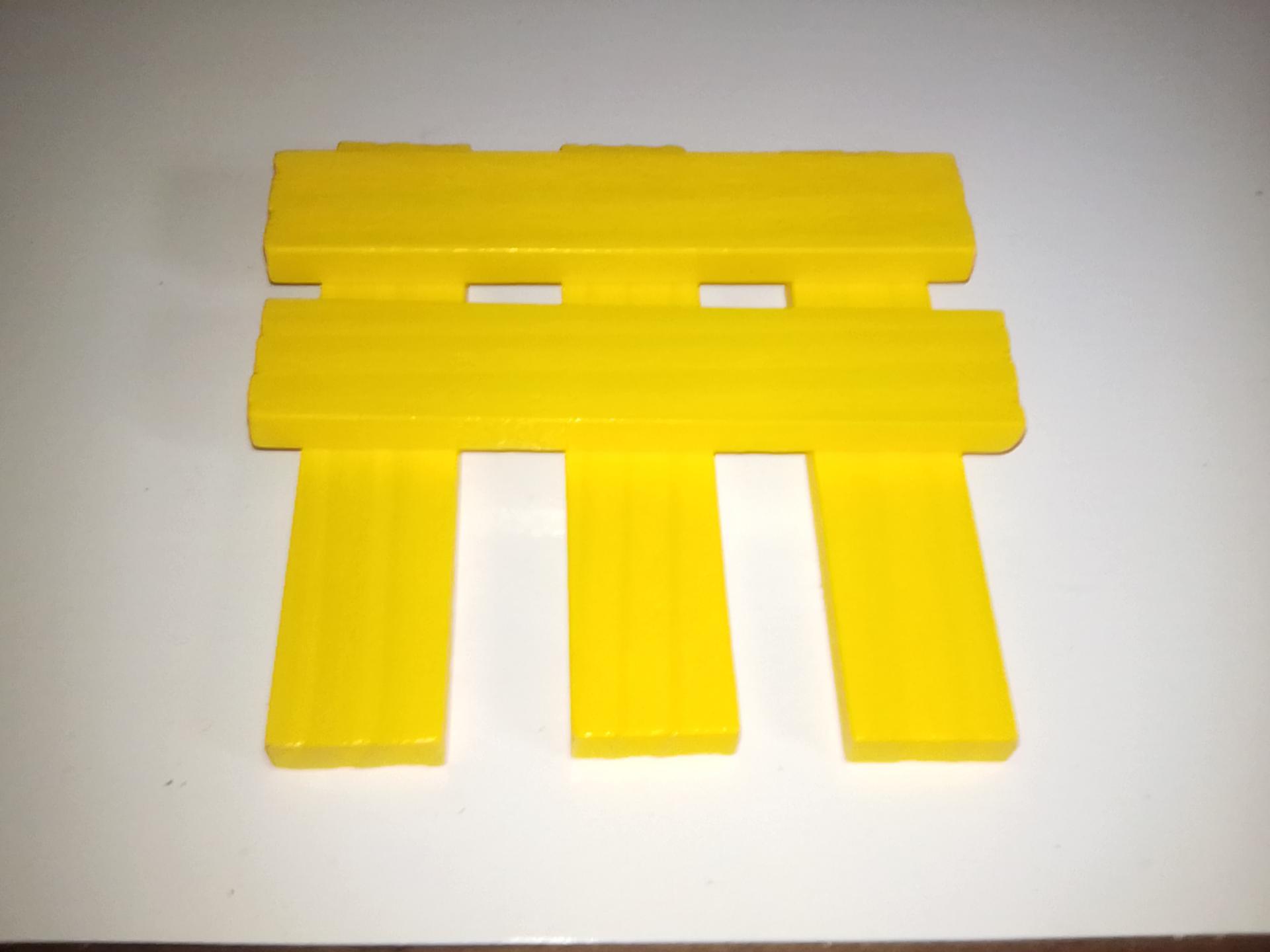 planchette jaune